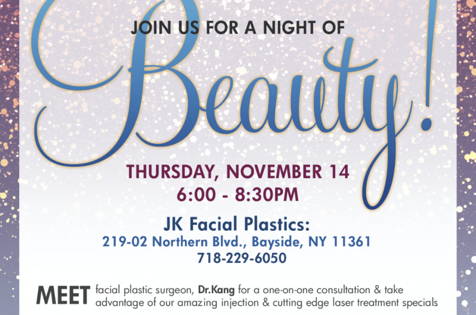 Join us for Night of BEAUTY!!